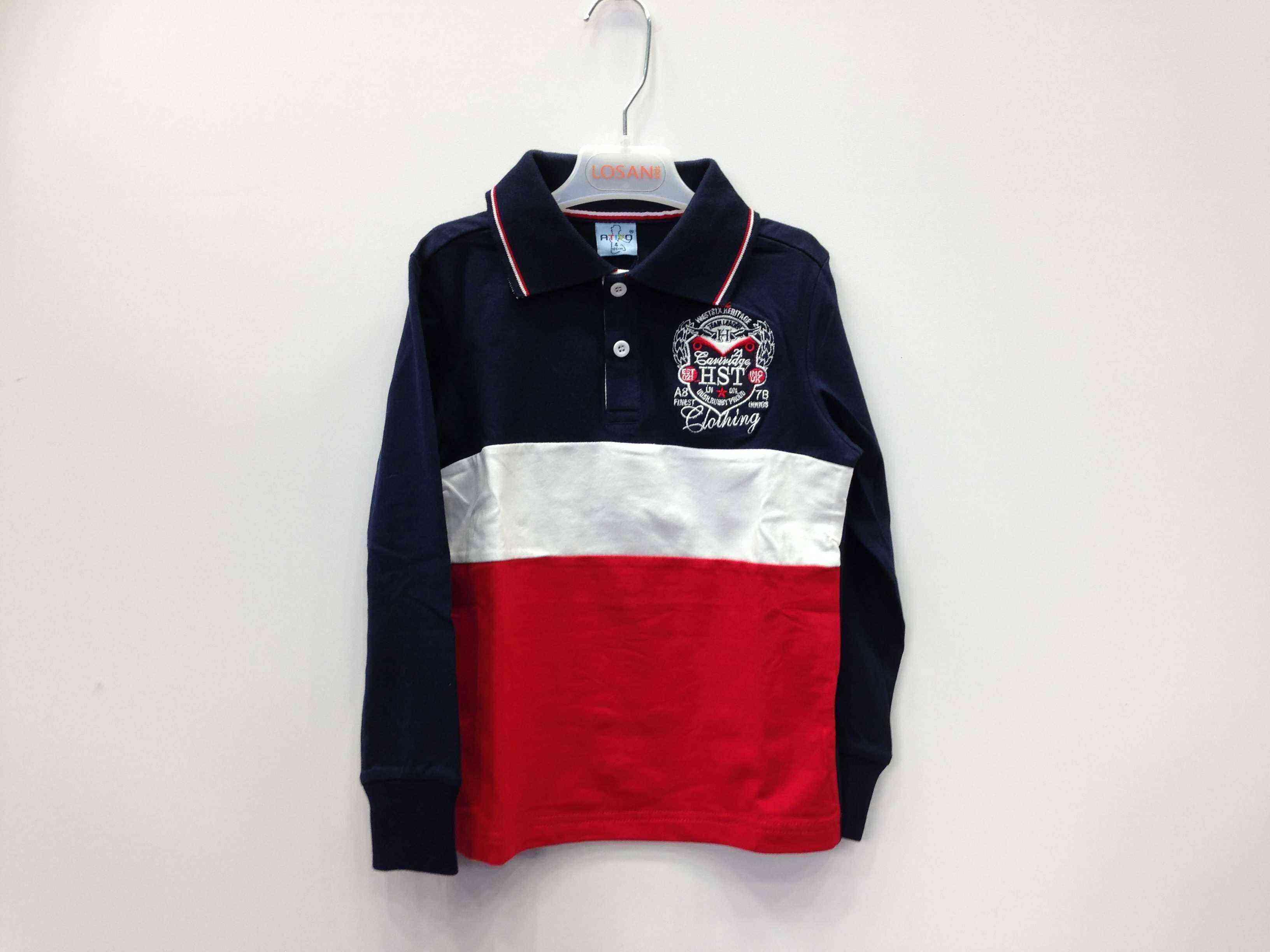 dec49922c40 ATIVO μπλούζα polo σε 2 χρώματα | Kids Club