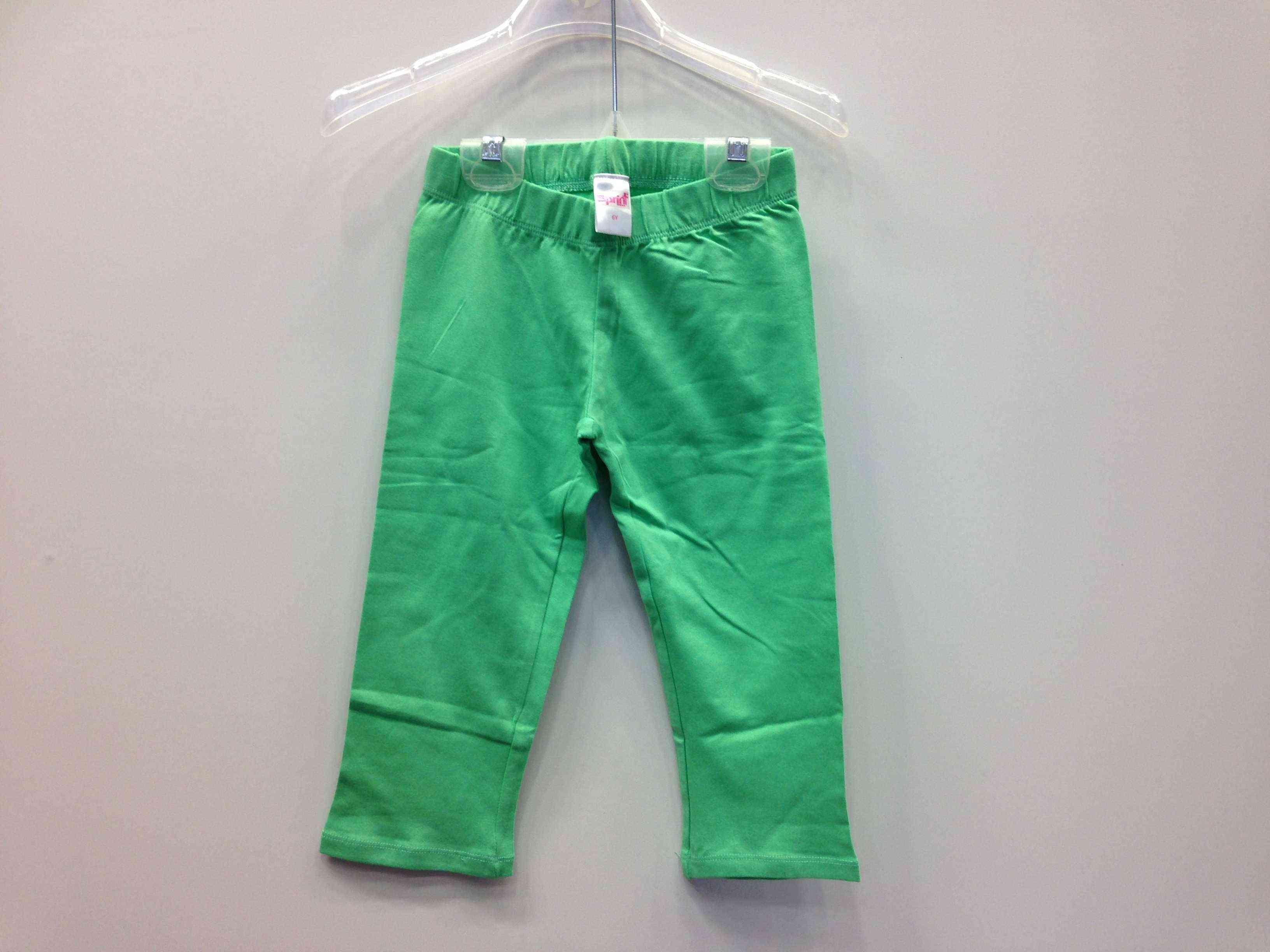 08861b4f9f3d SPRINT Σετ μπλούζα ανοιχτή πλάτη και κολάν πράσινο τσιγαλί 3 4 -