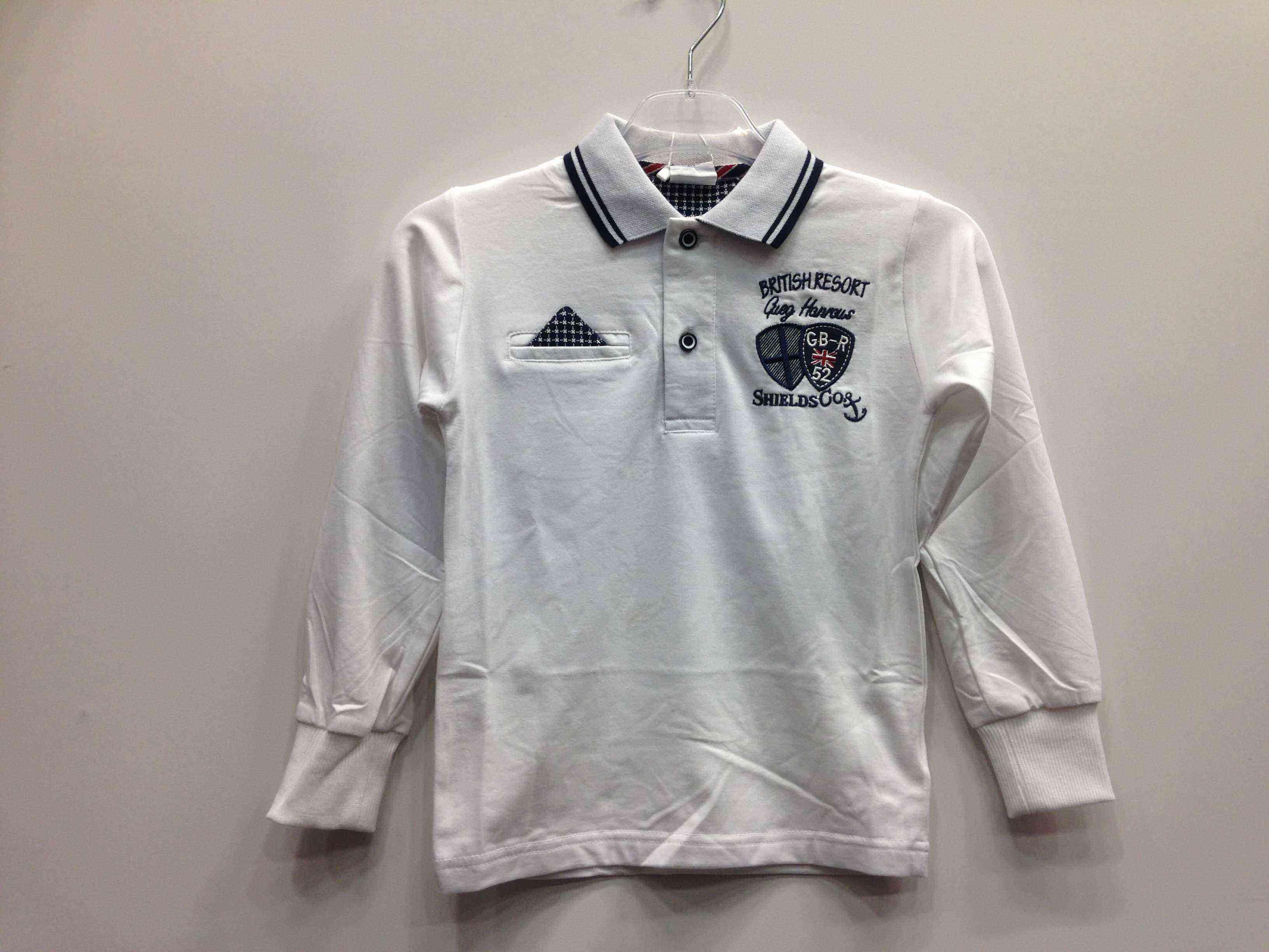 f1604c20ff0 Polo μπλούζα Μ/Μ λευκή -