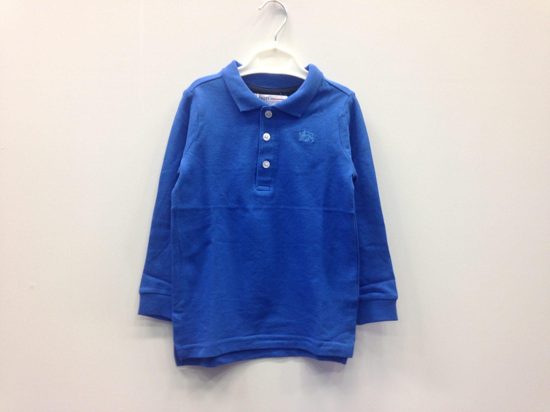 5297472bc08 MINOTI μπλούζα πόλο μ/μ ρουα με λευκά κουμπιά