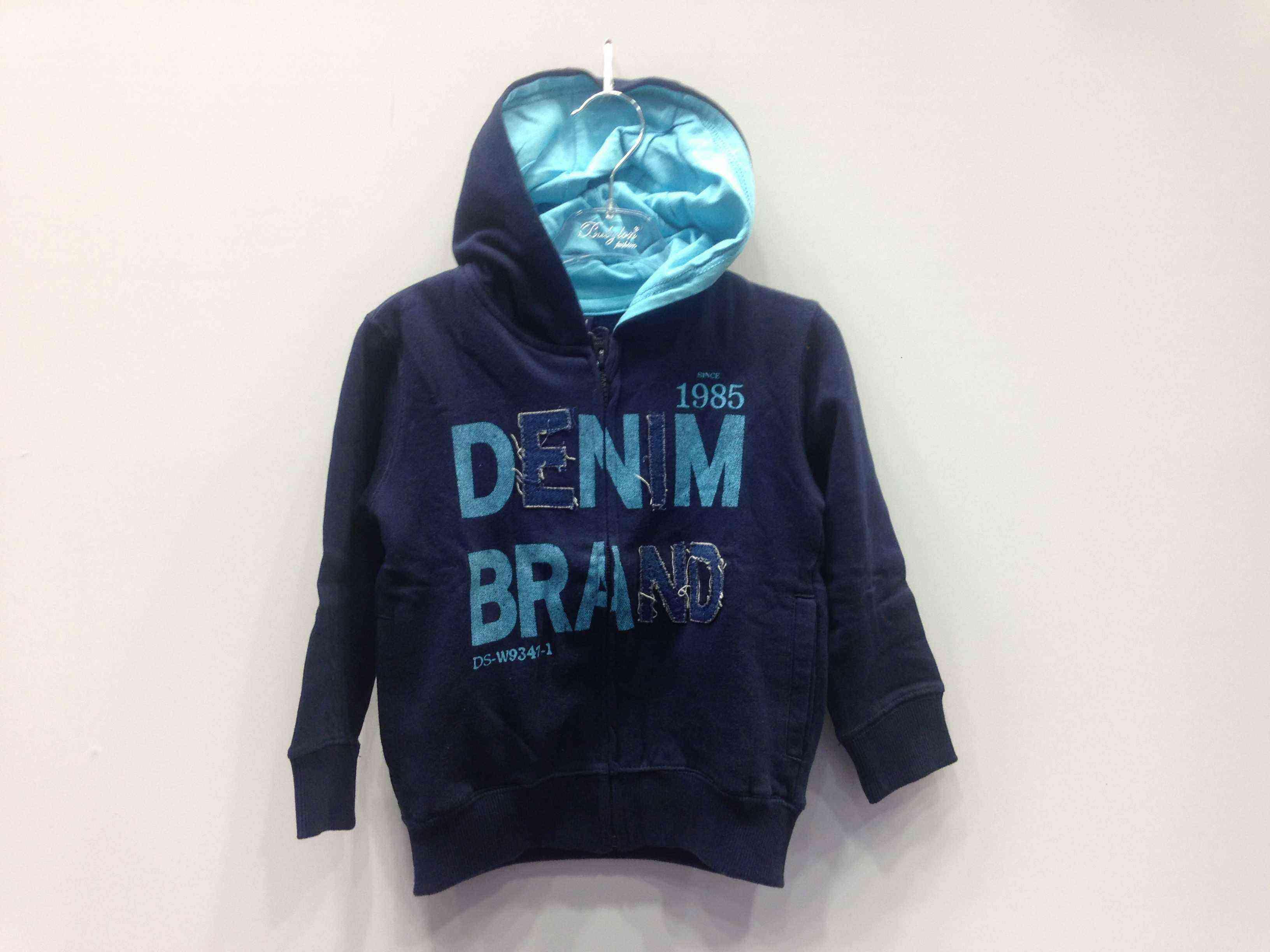 LOSAN Ζακέτα φούτερ με κουκούλα «DENIM» σε 2 χρώματα  9727ed78b88