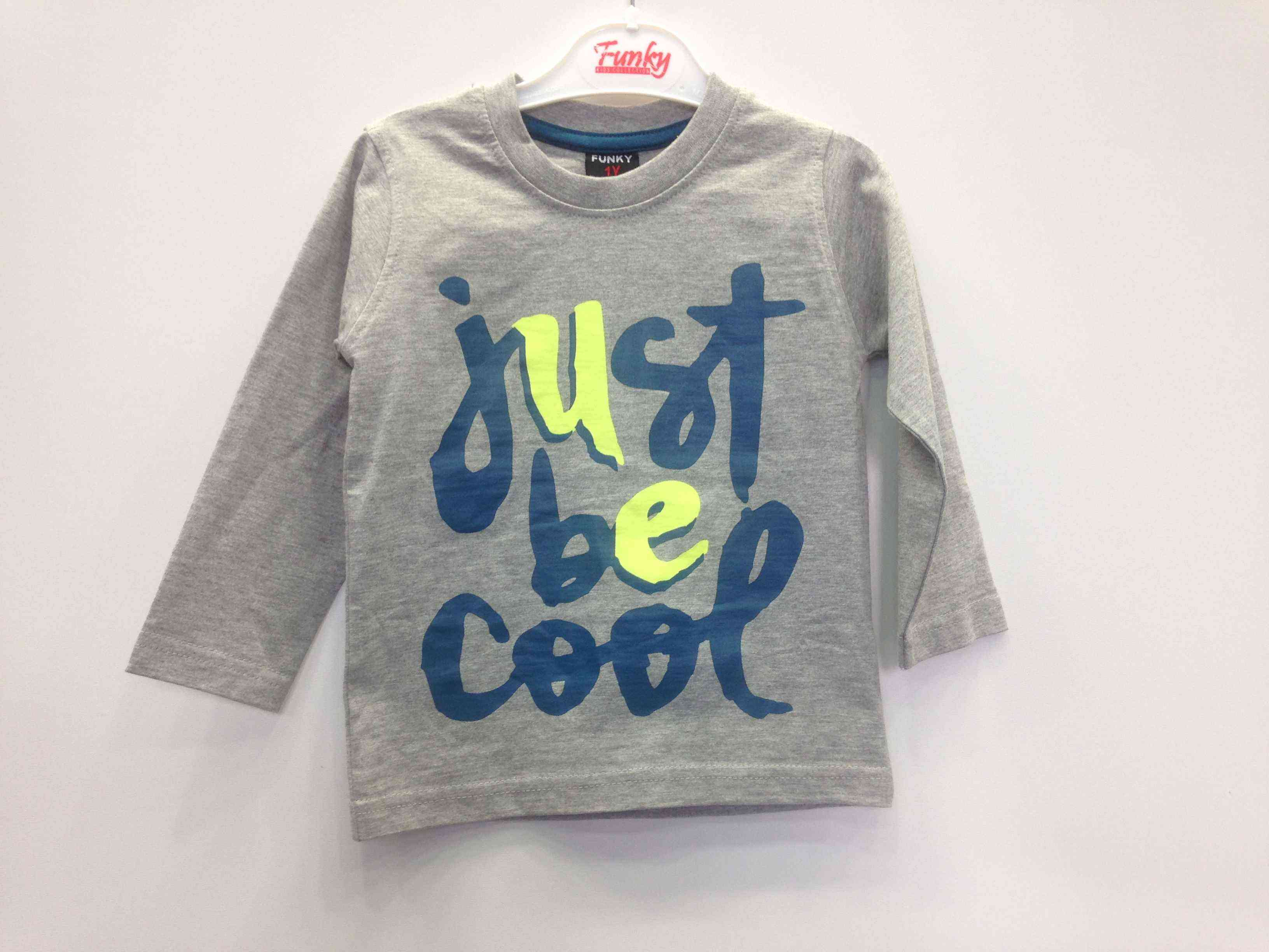 d3e9993cbfc FUNKY μπλούζα μ/μ «just bee cool» | Kids Club