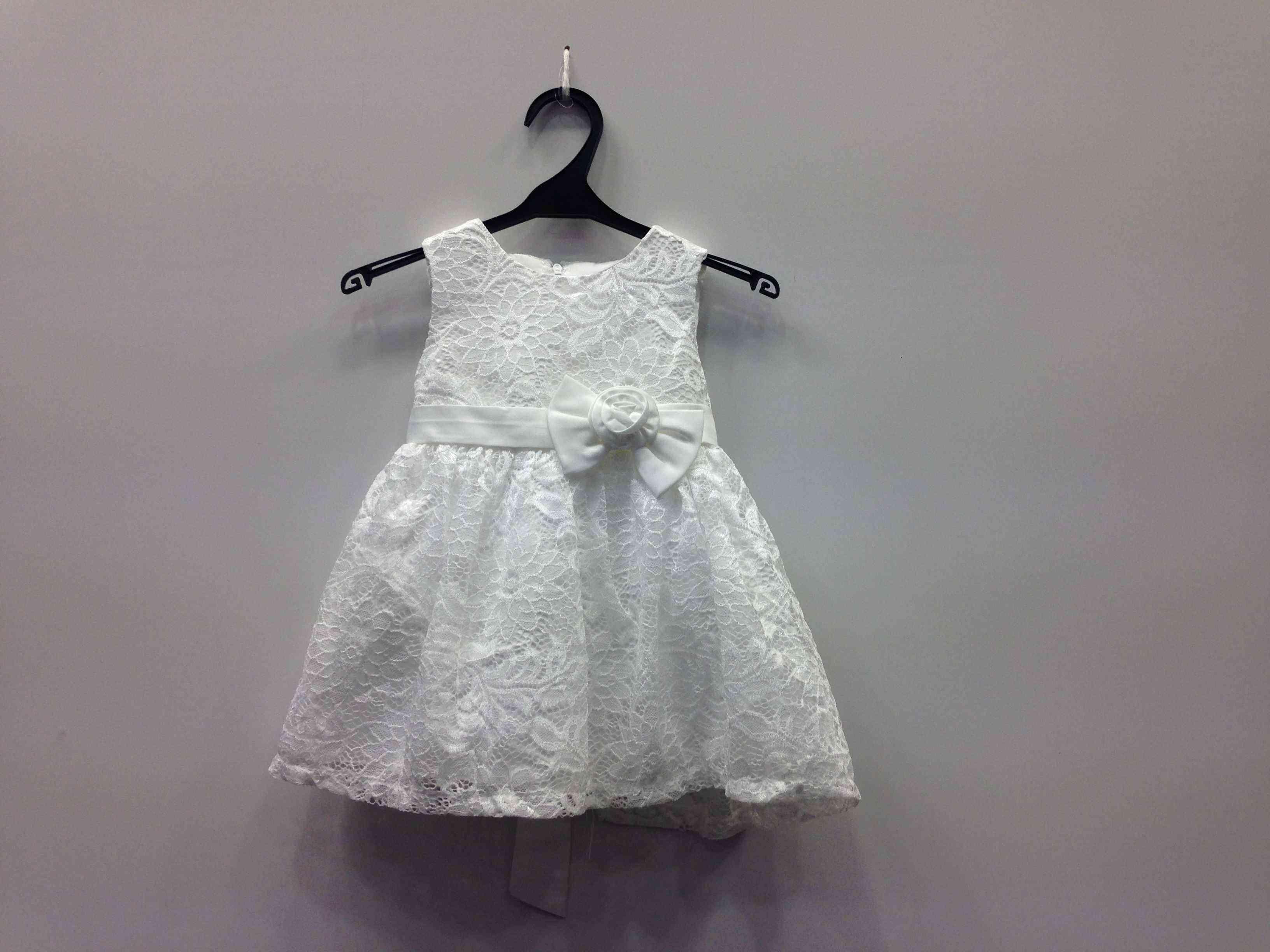 49dba177673 Φόρεμα δαντέλα με τριαντάφυλλο σε 2 χρώματα -