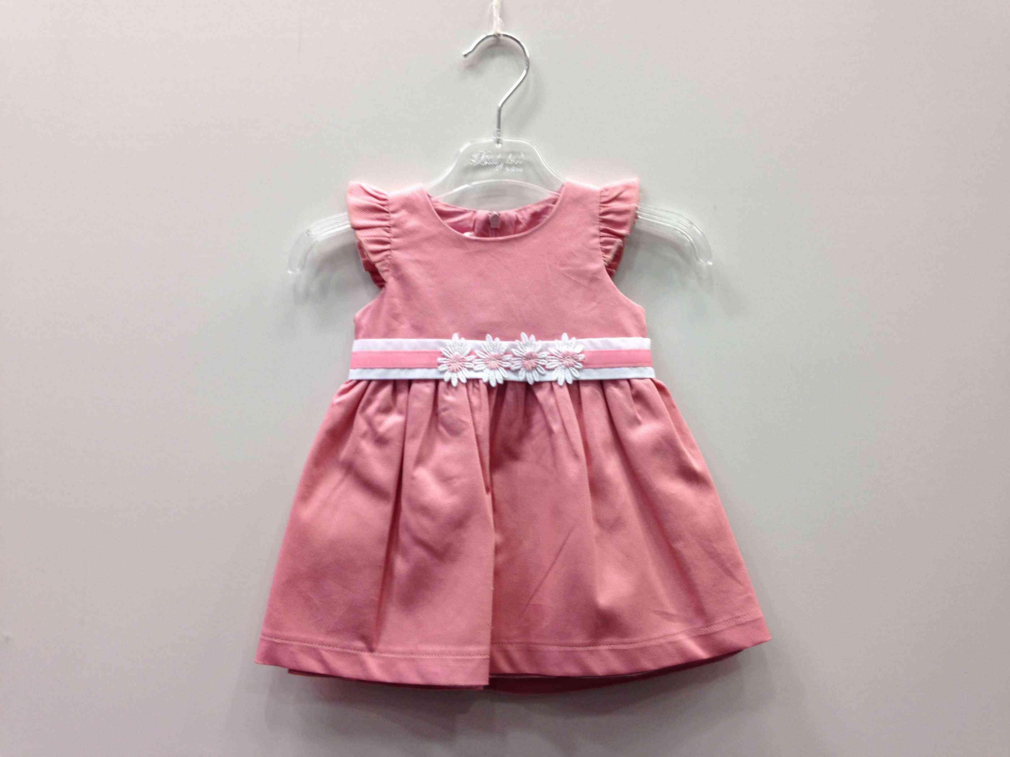 5809efcf58b BABYLON φόρεμα με ζώνη στη μέση, με λουλούδια 3D -
