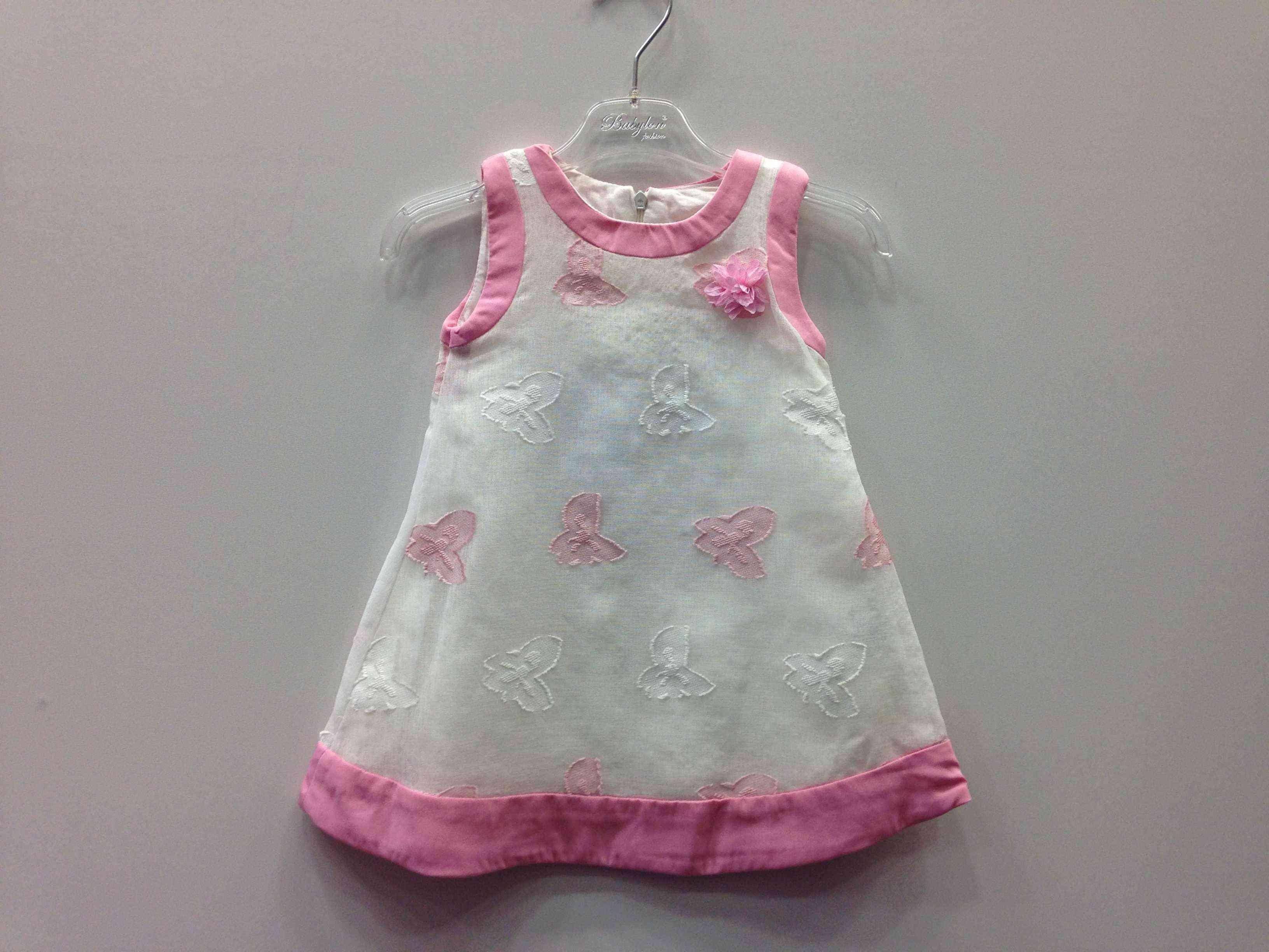 fbdd32bf186 BABYLON φόρεμα με κεντητές πεταλούδες α/μ -